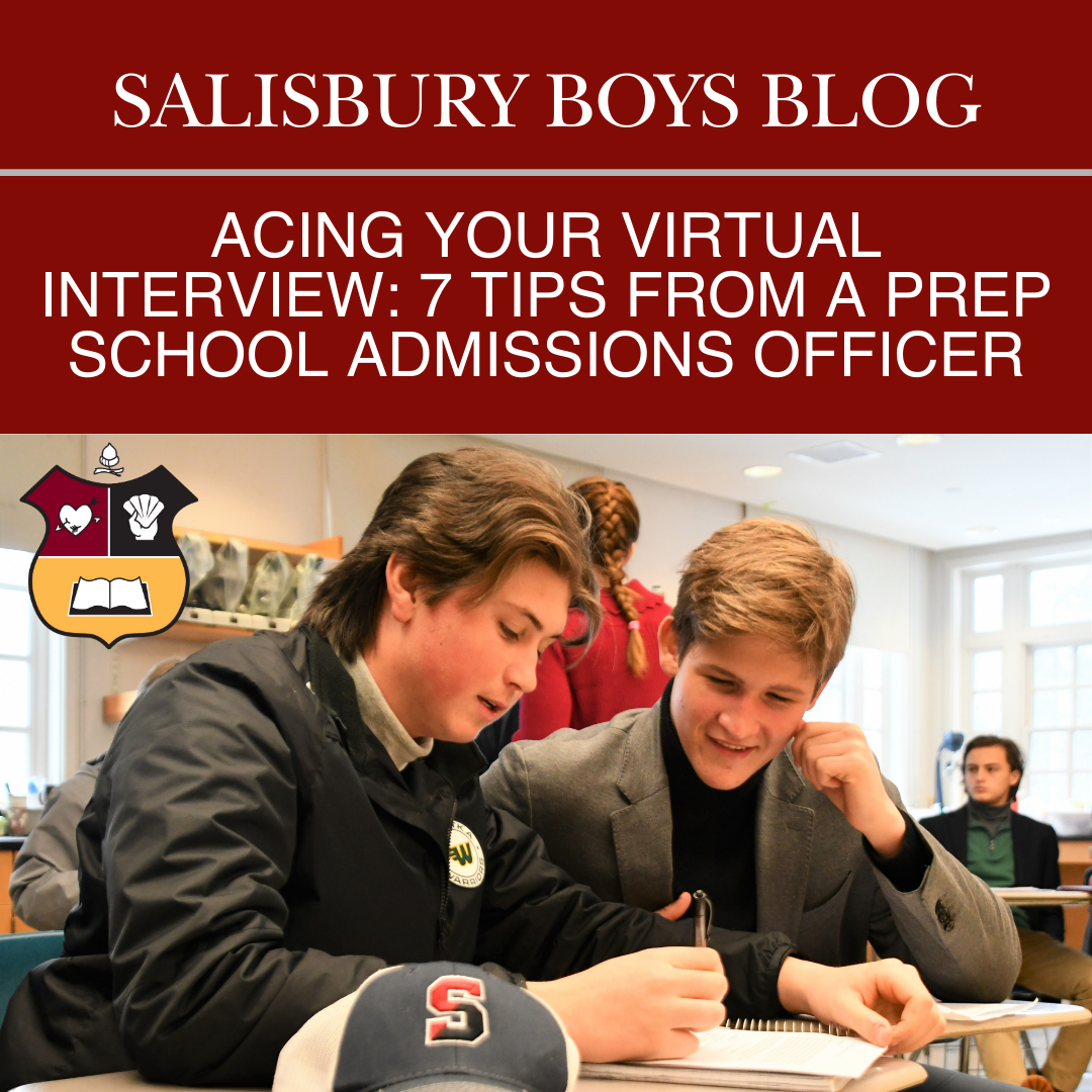 Prep School Virtual Interview Salisbury